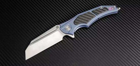 Artisan Cutlery Apache ATZ-1813G blau