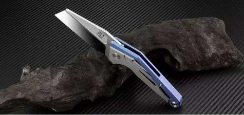 Artisan Cutlery Ravine ATZ-1819G titan blau